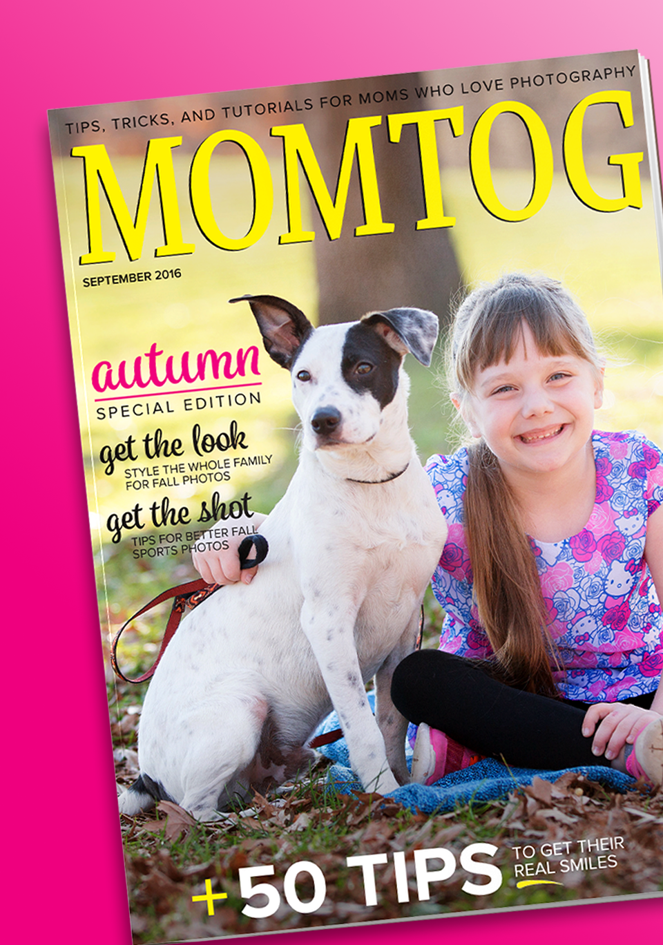 MomTog Magazine Layout and Design